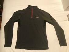 Polo Sport Men'S Light Gray Stretch Half Zip Thermovent Athletic Shirt Size:Smal