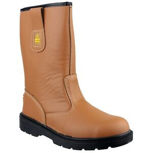Amblers FS124 - Mens/Womens Safety Boot - Steel Toe/Midsole S3 WP