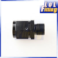 """Fitting Adapter Swivel -10AN AN10 10 AN Female To 1/2"""" NPT Male Aluminum Black"""