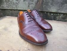 CHURCH VINTAGE BROGUES – BROWN / TAN - UK 9.5 – DIPLOMAT – EXCELLENT CONDITION