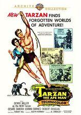 TARZAN THE APE MAN (1959) (Cesare Danova) - DVD - Region Free