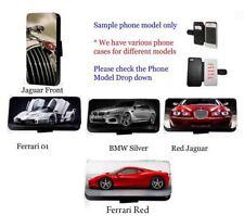 Supercar case Inspired luxury race car leather flip wallet card phone case UK