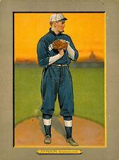 Peinture dessin collection carte de baseball Walter Johnson pitcher lv3034