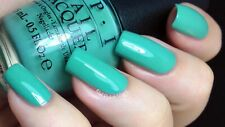 OPI NAIL POLISH Lacquer in MY DOGSLED IS A HYBRID ~ Creamy sea green