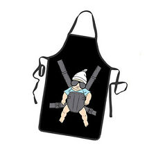Carry Baby Apron Funny Super Daddy Bib for Home Kitchen BBQ Party Novelty Gifts