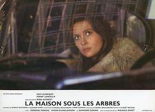FAYE DUNAWAY LA MAISON SOUS LES ARBRES 1971 VINTAGE PHOTO LOBBY CARD N°2