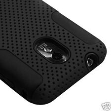 SAMSUNG GALAXY S II 2 SPRINT D710 R760 EPIC TOUCH 4G MESH HYBRID CASE BLACK