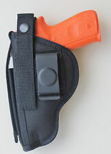 Gun Holster Clip Belt for RUGER P93, P95, P97, P345 with built-in Magazine Pouch