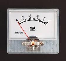 1pc Panel Amp Meter DC 1mA SD-312C 55x47mm Linear type ±5% SD FlashStar
