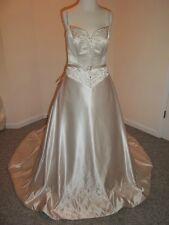 NWT Satin Large (10-12) Mori Lee Ivory Wedding Dress