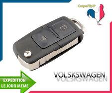 Coque Télécommande Plip 2 Boutons Vw Volkswagen, Polo, Passat, Golf, Bora + clé