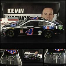 2019 KEVIN HARVICK Autographed / Signed #4 MOBIL 1 FORD MUSTANG 1/24 W/COA