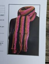 Flash Sale! Rare Knitting Pattern: Quick Knit Scarf By Skacel