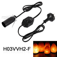 High Quality Power Cord for Himalayan Salt Lamp AU Approved W/ Dimmer Switch