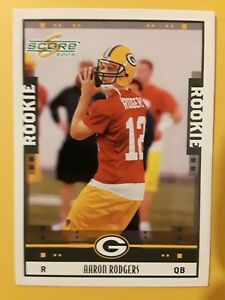 2005 Score Aaron Rodgers RC #352 (Read)