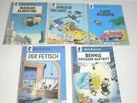 SAMMLUNG - BENNIE BÄRENSTARK Nr. 2,4,6,7,8, Carlsen ab 1979, Zust. (1-2-), PEYO