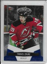 10-11 Certified Travis Zajac Platinum Blue # 88 #d/250