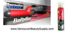 "Babyliss Pro Tourmaline Ceramic Curling Iron (1-1/4"") + Shine Spray - Xmas Pack"