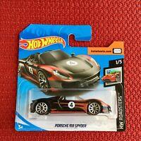 Hot Wheels Porsche 918 Spyder Mattel Car Toy Brand NEW