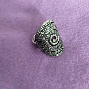 Fine Silver Rings 925 Sterling Solid Adjustable Free Size Vintage Fashion R78007