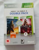 HALO 3 And Fable 2 DOUBLE PACK Microsoft Xbox 360 Game