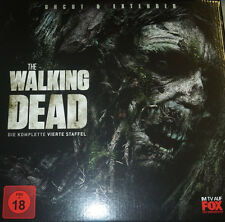 The Walking Dead Staffel 4, Limited Treewalker Edition, 5 Blu Ray Box, NEU & OVP