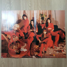 [Poster Only] EXID Single Album I Love You Official Unfolded Kpop Geunine