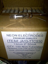 1 box of 100 Johnny Austin Neon Non-Tubulated Electrodes JA13-TTCS30