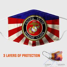 United States Marine Corps Face Mask 3D One Size