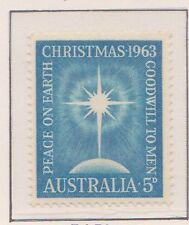 (Q17-98) 1963 AU 5d blue Christmas MUH