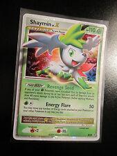 EX Pokemon SHAYMIN LV.X Card BLACK STAR PROMO Set DP39 Ultra Rare Tin Holo TCG