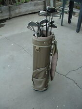 LADIES VERY NICE GOLF SET W 13 CLUBS CARRY BAG & BALL MATCHING IRONS  16mg11