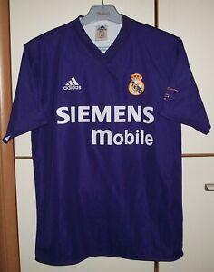 Real Madrid 2001 - 2002 Third football shirt jersey Adidas Centenary size 34/36