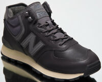New Balance 574 Mid Top Men's Lifestyle Shoes Dark Grey 2018 Sneakers MH574-OAA
