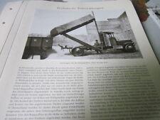 Nutzfahrzeug Archiv 2 Entwicklung 2622 Hochkippaufbau Krupp 1921