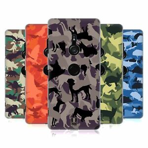 HEAD CASE DESIGNS ANIMAL CAMO PATTERNS BACK CASE & WALLPAPER FOR SONY PHONES 1