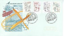 AUSTRALIA 1994 AVIATION PIONEERS SET OF 4 ON OFFICIAL FIRST DAY COVER AIRCRAFT