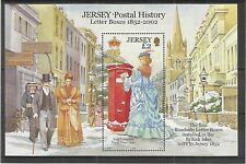 JERSEY 2002 POSTAL HISTORY 1ST SERIES MINISHEET SG,MS1073 UM/M N/H LOT R357