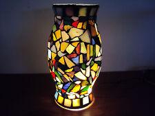 Jolie lampe décorative en mosaïque de verre