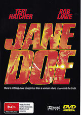 JANE DOE Teri Hatcher / Rob Lowe DVD Region Free - New - PAL