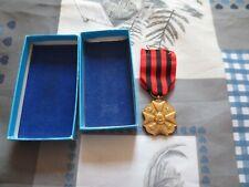 Médaille ordre de léopold avec épingle TTBE