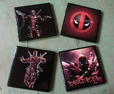 Marvel Deadpool X-Men  ceramic coasters (set of 4)