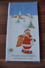 5 Stück verschiedene Weihnachtskarten Grußkarten Klappkarten (1)