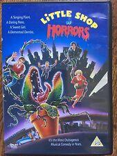 Rick Moranis Steve Martin LITTLE SHOP OF HORRORS ~ 1986 Musical Classic   UK DVD