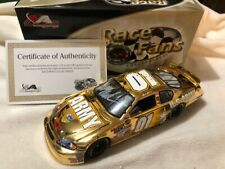 NASCAR Diecast 1/24 scale MARK MARTIN #01 ARMY American Heroes Gold AUTOGRAPHED!