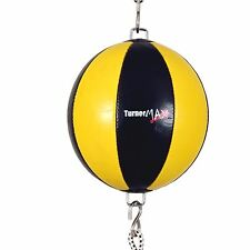 TurnerMAX Synthetic Leather Boxing Double End Speedbag Ball MMA Traning