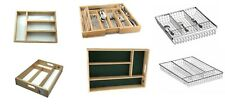 Cutlery Tray Drawer Utensil Storage Kitchen  Drawer Organizer