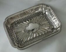 Antique Victorian Solid Sterling Silver Dish 1891/ L 20 cm/ 207 g