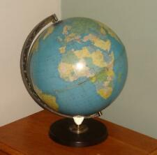 "1968 Vintage Philips 12"" Political Challenge World Globe Interior Decorative"