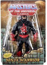 NINJA Warrior (NINJOR) 2015 motu Masters of the Universe Classics HE MAN NUOVO